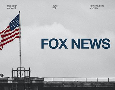 Fox News — website redesign