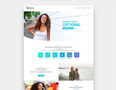 Options Health Website