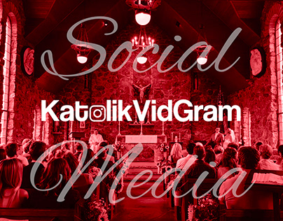 KatolikVidGram - Social Media Design