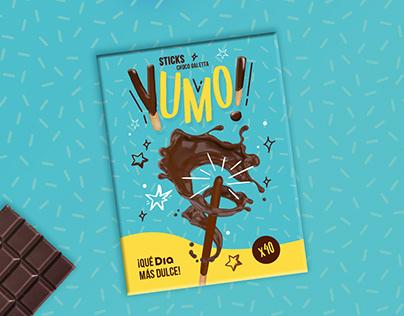 Yumo - chocolate sticks