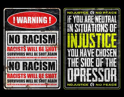 Black Lives Matter   Protest Poster Campaign — byDBDS®