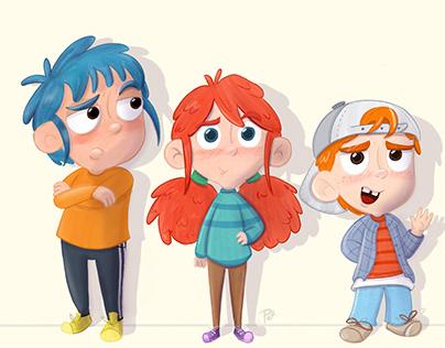 Personajes - Escolares 2