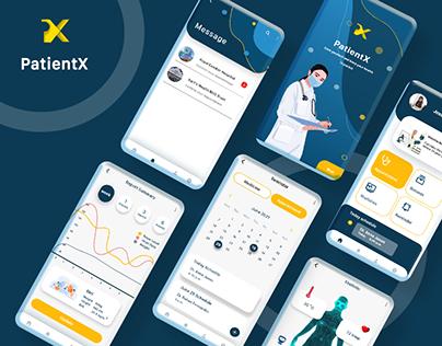 PatientX App - Health Case Study