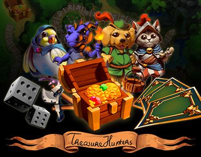 Treasure Hunters A family boardgame