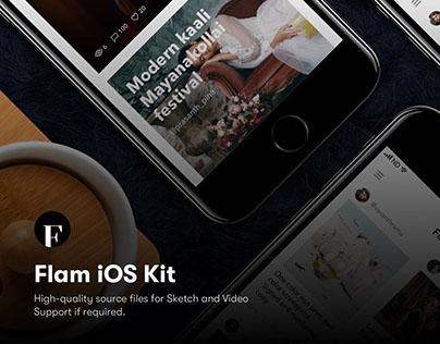 Flam - Sketch UI Kit