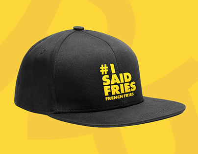 Happy Fries Visual Identity