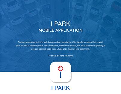 I Park Mobile App