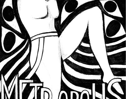Metropolis poster design