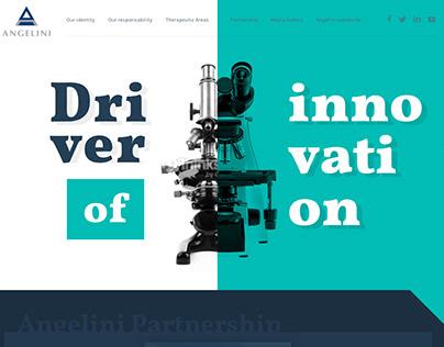 Big Pharma corporate website.