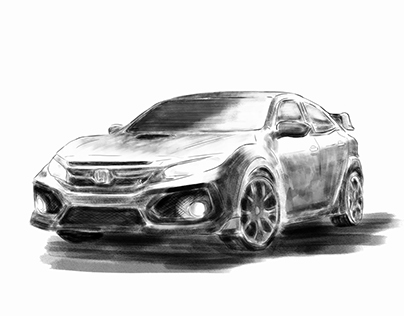 Animation - Honda Civic Type R - Designed by dReamers