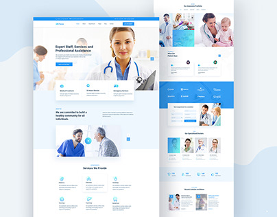 Fiona-Medical Landing Page