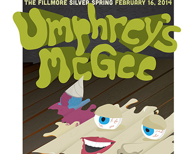 Umphrey's McGee Poster Design