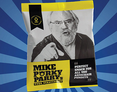 Mike Parry talkSPORT Presenter - Pork Scratchings