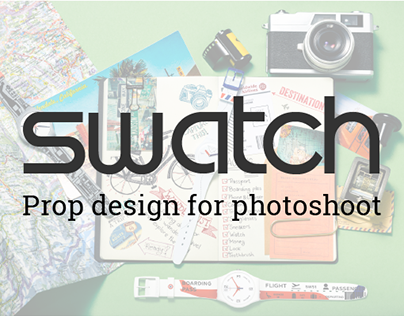 Swatch - Prop design for photoshoot