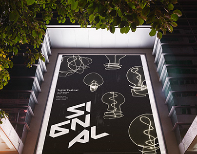 Signal Festival (poster redesign)