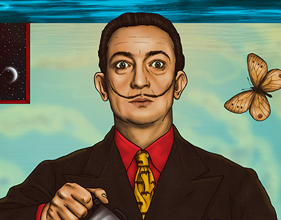 Salvador Dali, Inspiration