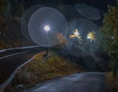 Lost between fog and drops