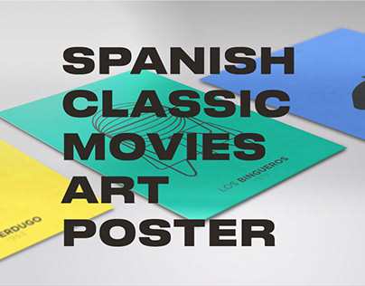 Spanish Classic Movie Artwork Posters