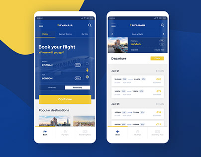 Ryanair - Mobile App Redesign