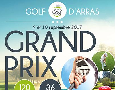 Affiche Grand Prix Golf