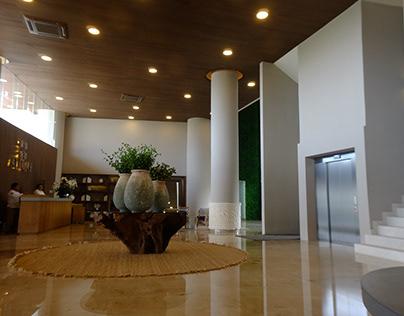 Lobby y Áreas Comunes Allure Luxury Condos