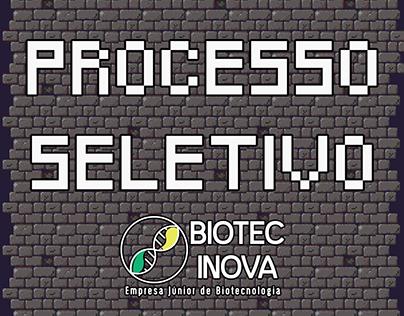 Processo Seletivo Biotec Inova - 2017