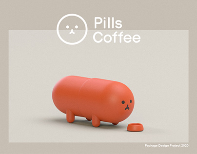 Pills Coffee Package Design