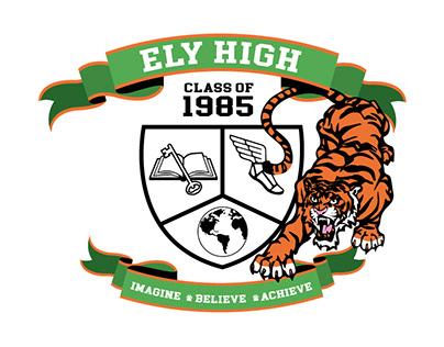High School Reunion Crest