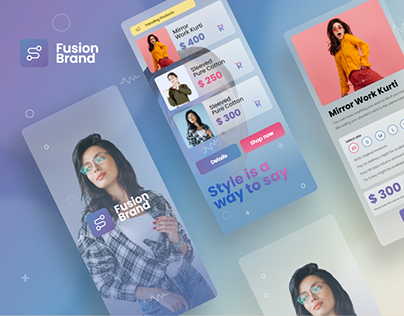 Fashion App - Mobile Design Concept