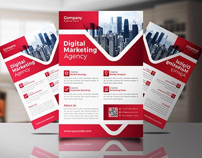 Digital Marketing Agency Flyer Design