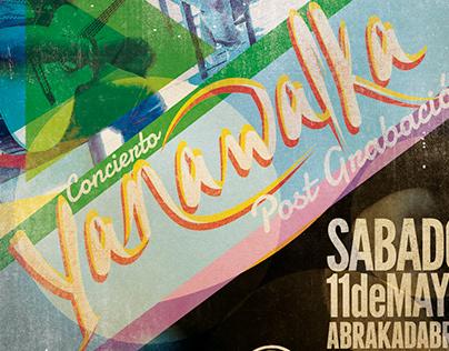 Grabación YANAWALKA para bar Abrakadabra.