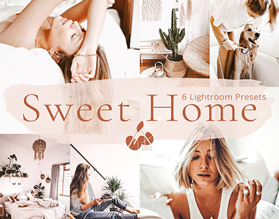 Sweet Home Collection Lightroom Mobile Presets