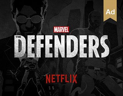 Netflix The Defenders - #HeroesAreAmongUs