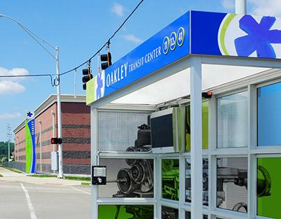 METRO Oakley Transit Center // Public Transportation