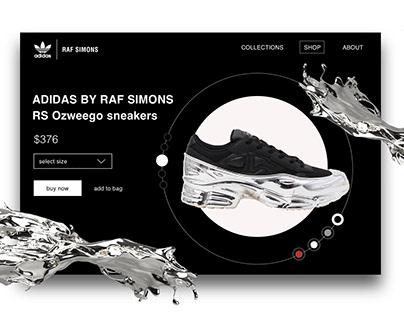 ADIDAS x Raf Simons | Product Page