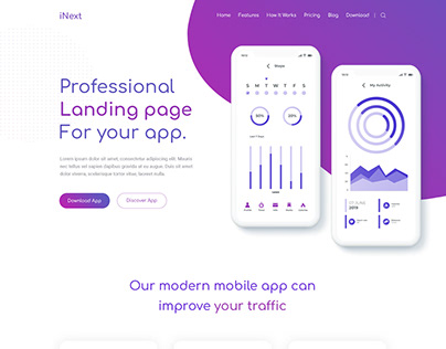 Mobile App OnePage