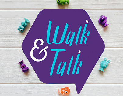 Visual identity concept for the project «Walk&Talk»