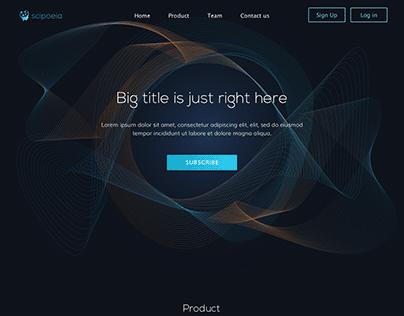 Web Design Landing page