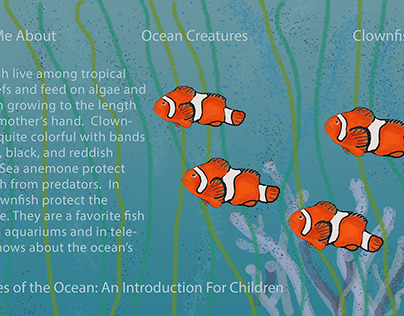 Teach Me About Creatures of the Ocean