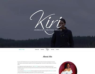 Kiri - Website Design