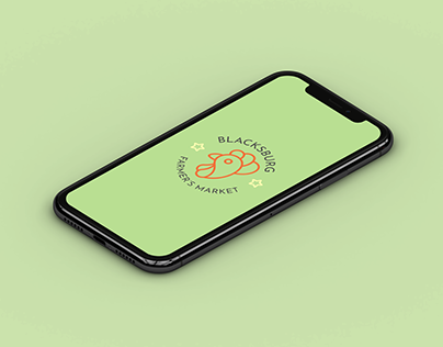 Blacksburg Farmer's Market // App Design