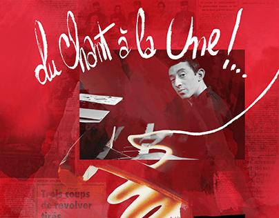 Serge Gainsbourg : Du chant à la une !