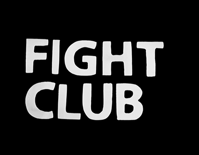 Title sequence - Fight Club
