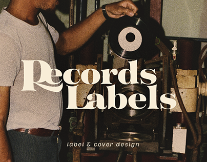 Records Labels - Label & Cover design