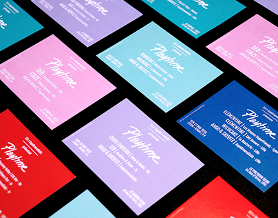 PLAYTIME - EVENTS IDENTITY