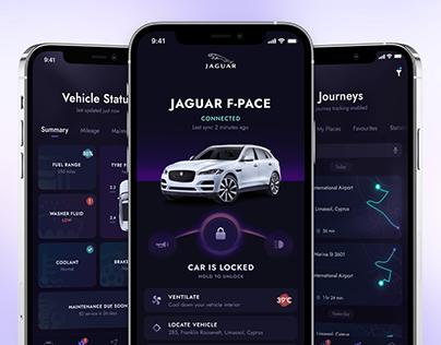 Jaguar Remote App Concept