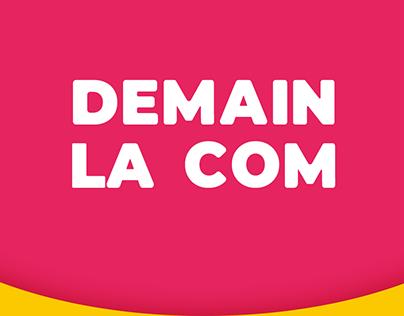 DEMAIN LA COM - TV SHOW VISUAL COMMUNICATION