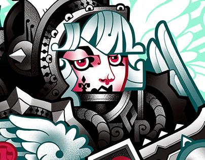 Warhammer 40k fan art