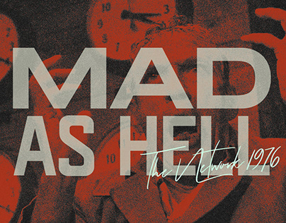 MAD AS HELL   Kinetic Typography