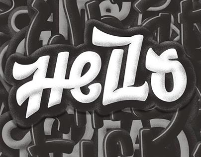 Hand & Letterings — Sticker pack